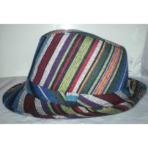 Sombreros Multiuso Estilo Borsalino De Polyester Y Lino