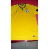 Camisa Nike Da Seleção Brasileira 2014 Oficial