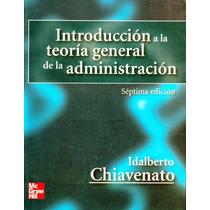 Libro: Introducción A La Teoría General De La Admón. - Pdf