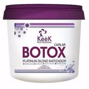 Keek Botox Capilar Matizador 1kg Compre Ganhe 1 Brinde