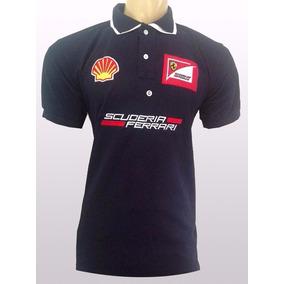 Kit Com 3 Camisas Pollo Ferrari Masculina Pronta Entrega