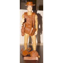 Daniel Boone Limited Edition Marx Plastimarx Con Acces Armas