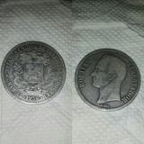 Moneda Fuerte De Plata Lei 900 Año 1.936 25 Gramos