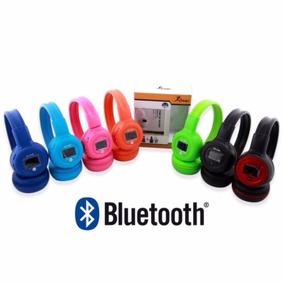 Fone De Ouvido Headphone Bluethooth Cartão Micro Sd N65 Knup