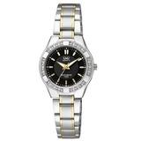 Reloj Q&q Q865j402y Acero Plateado/dorado Mujer