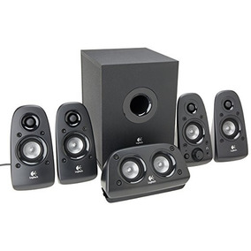 how to connect logitech surround sound speakers z506