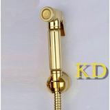 Ducha Higienica Duchinha Dourada Ouro Luxo Banheiro Tyu4 Kd