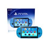 ..::consola Psvita Slim Aqua Blue::..playstation En Gamewow