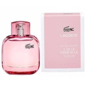 Perfume Lacoste L12.12 Sparkling 90ml Para Mujer (mil Esenci