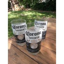 Vasos Corona - Vidrio Reciclado - Floreros