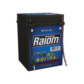 Bateria De Moto Raiom Rt2,5 Cg125/ml/xl125