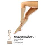 Meia De Compressão Selecta Helanca 30/40 Mmhg 3/4 - 6002