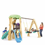 Juego De Columpios Tree House Little Tikes Set Completo.