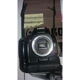 Câmera Fotográfica Canon Rebel Xti + Grip + Bateria + Sd 1gb