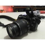Cámara Nikon D3000 18-55 Vr Kit.
