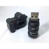 Pen Drive 16 Gb Mini Camara Reflex -nikon-canon-sony-kodak