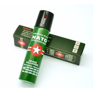 Gas Pimienta Spray Nato Aleman Defensa Personal Verde 40ml
