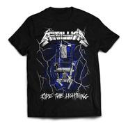 Camiseta Metallica  Ride The Lightning Rock Activity