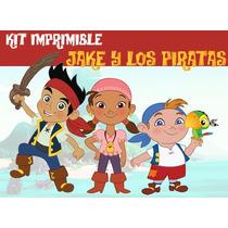 Kit Imprimible Jake Y Los Piratas Promo 2x1