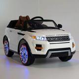 Carro A Bateria Para Niños Juguetes Land Rover Control Remot