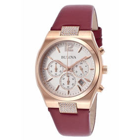Reloj Bulova 97m108 Mujer Distribuidor Oficial Envió.