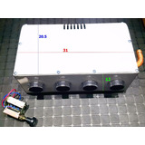 Calefaccion Universal 12 V Metal 4 Bocas C/comando