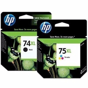 Cartucho De Tinta Hp 74xl E 75xl Original