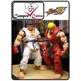 Street Fighter Iv Ken E Ryu (lacrado) Neca Envio Imediato...