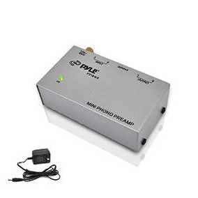 Pyle-pro Pp444 Ultra Compacto Phono Turntable Preamplificado