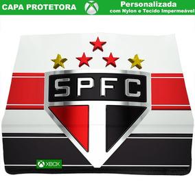Capa Xbox One S Sao Paulo Fc Protetora Em Nylon