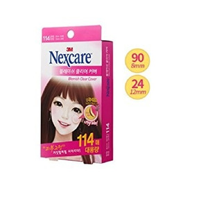 3m Nexcare Blemish Acne Clear Cover 114patch