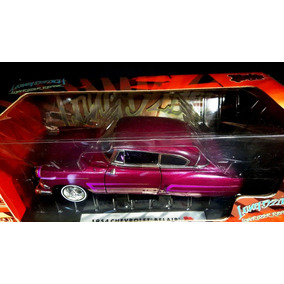 1954 Chevy Belair Purple Long Bach Low Rider 1:18 M Int