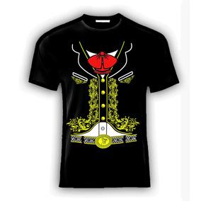Playera O Camiseta Mariachi Revolucion Mexicana 100% Algdn!!