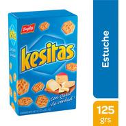 Galletitas Kesitas Queso Estuche 125g Bagley - 01mercado