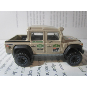 Land Rover Camioneta Escala 7cm Largo Coleccion Hot Wheels
