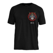 Camiseta Pc Iron Maiden Senjutsu Samurai Eddie Life Snake