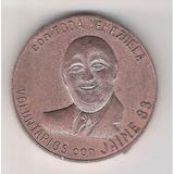 Venezuela Moneda De Ad Jaime Lusinchi, Año 1.983