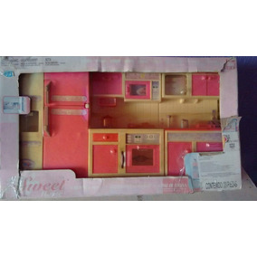 Sweet Home Kitchen Set Cocinita Goldlok 2001