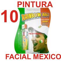 10 Pintura Facial Fiesta Mexicana Futbol Pintura Cara México