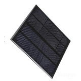 Célula Painel Placa Energia Solar Fotovoltaica 12v 250ma 3w