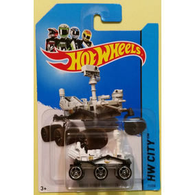 Hot Wheels Mars Rover Curiosity Nasa - Marte - Rodas Pretas