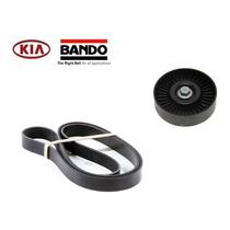 Kit Correia Alternador Tensor Kia Cerato 1.6 16v Cvvt 2014