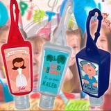 Gel Antibacterial Personalizado Con Holder De Coloresx24und