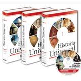 Libro Enciclopedia De Historia Universal 3 Tomos Oceano
