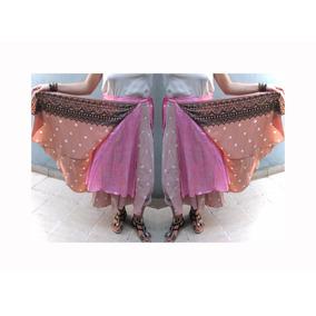 Falda Pollera De Seda Indiahindú Importada Vestido