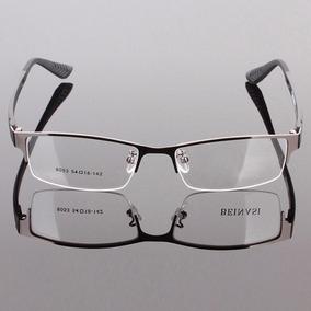 Armação Óculos Para Descanso Sem Grau Novo Metal Discreto Ba