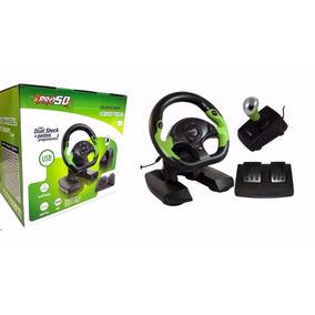 Xbox 360 Volante C/pedal/câmbio Xbox/pc Pro50 Niteroi Rj