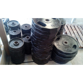 Lote Discos Iron Grip Ahulados ( 2100lbs)