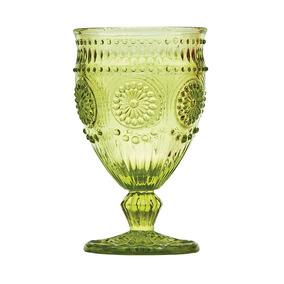 Jogo 6 Taças Vinho Aubusson 270ml Verde