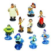 Luca Pixar Filme Bonecos Deluxe Playset Disney Store Miniat